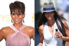 Halle Berry Love the extensions!