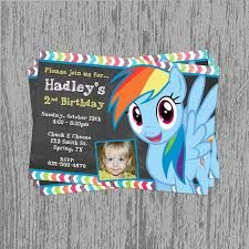 Image result for rainbow dash party invitations