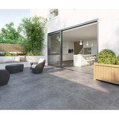 grey flooring Dunsen Grey Anti Slip Floor Tile - Floor Tiles from Tile Mountain Outside Flooring, Outside Tiles, Outdoor Flooring, Grey Flooring, Kitchen Flooring, Ceramic Flooring, Garden Tiles, Patio Tiles, Outdoor Tiles