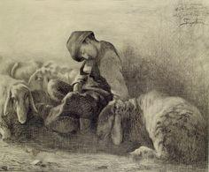 Giovanni Segatini drawings