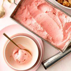 Strawberry Balsamic Frozen Yogurt | MyRecipes.com