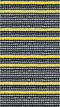 Räsymatto (191) fabric by Marimekko