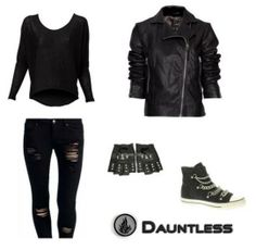 Literary Fashion: dress like a Dauntless