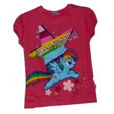 Tee-shirt My Little pony - manches courtes - fushia