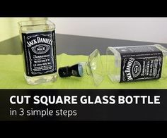 This time I show you how to cut square ( or any other) glass bottle in 3 simple steps.How I made it - you can check by looking DIY video or you can follow up ...