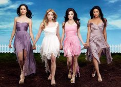 Pretty Little Liars: the fashion, the mystery, the heart-warming romance, girl power, giggles & shrieks!!