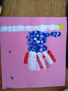 Pinterest Preschool Ideas | Preschool 4th Of July Craft | SUPER MOMMY TO THE RESCUE