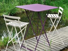 Fermob Bistro High Table with High Stool    #Fermob #Bistro