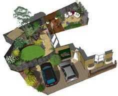 These clients wanted a design for the front and back garden to complete their renovations following a recent move. #frontgarden #backgarden #pavedcircle #circularpatio #planting #lawn #familygarden #fence #gardendesign #gardenscapes#gardenstyle #gardenstyles#gardenstyling #landscapingdesign #gardeninglove#gardeninglovers #gardenlove #gardenlover #gardenlovers #outdoorspace #outdoorspaces #gardeninspo #gardeninspiration #greenspace #greenspaces #greenfinger #greenfingers Landscape Design, Garden Design, Cuprinol Garden Shades, Circular Patio, Sandstone Paving, Hardwood Decking, Earth Design, Family Garden, Back Gardens
