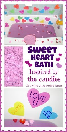 Bath Activities for Kids: Sweethearts Bath Time