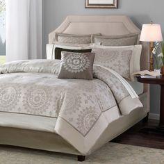 Tiburon 12 Piece Complete Bed Comforter Set by Madison Park - MP10-118