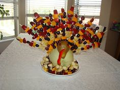 What have I done now?: Thanksgiving Fruit Turkey