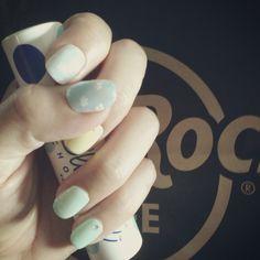 blue sky nail