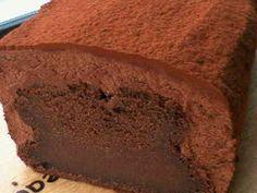 バレンタイン☆とろっとチョコレートケーキの画像