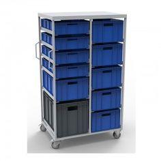 Carro para transportar cajas plásticas MP-CC66025-3