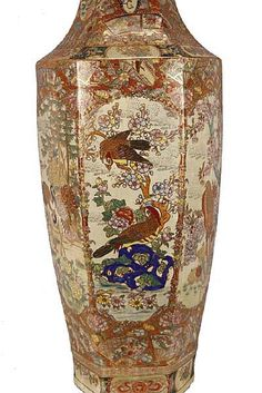 Lot: A RARE MONUMENTAL JAPANESE SATSUMA PORCELAIN DECORATIVE, Lot Number: 2192, Starting Bid: $750, Auctioneer: Metropolitan Auction of Art , Inc., Auction: Fine Asian Art And Collectables, Date: March 11th, 2017 PST