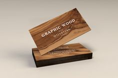 PSD Source - Wooden Business Cards MockUp - All Design Template - Photoshop Vector Wood Business Cards, Luxury Business Cards, Free Business Card Templates, Business Card Mock Up, Business Card Design, Mockup Templates, Wood Logo, Name Card Design, Branding