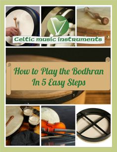 How to Play the Bodhran For Beginners - 5 Basic Steps
