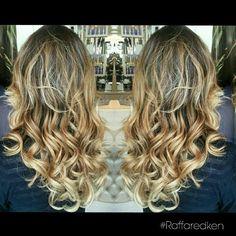 Louro quente #raffaredken #redken #tratamento #hair #hairstyle #blond #blondhair #loirodossonhos