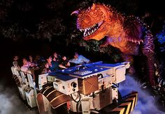 Dinosaur at Animal Kingdom-Don't take little ones on this. You will regret it. ;)
