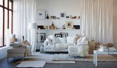IKEA Living Rooms Ideas for Small Space : IKEA Living Area