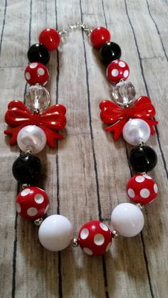 Hey, I found this really awesome Etsy listing at https://www.etsy.com/listing/213700035/big-red-bows-children-chunky-bubblegum