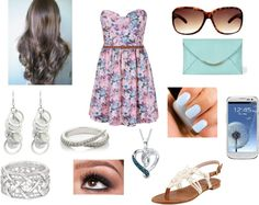 """""""summer"""" by alexus-kathleen ❤ liked on Polyvore"""