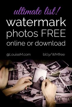 Want to watermark photos free to protect from content theft? Check this ultimate list of websites to download free watermark software or watermark online.