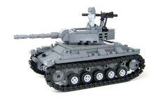 US Army Chaffee Tank World War 2 Complete Set made w/ real LEGO® bricks