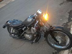 Yamaha Virago, Bobber Bikes, Vintage Motorcycles, Old School, Vehicles, Inspiration, Biblical Inspiration, Car, Inspirational