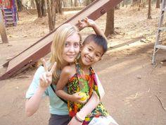 Abigail Grinnell - 2008 Program Participant       Volunteering with Children in Thailand