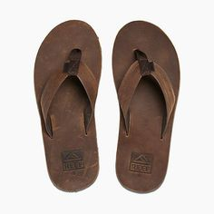 b9707172b39254 The Men s Reef Voyage LE leather sandal is the perfect blend of style    function.