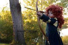 Merida costume -Jennifer Turnage Photography