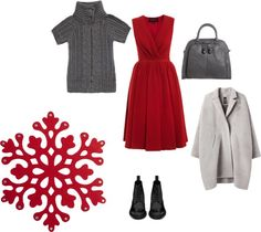 """red snowwhite"" by ivanova-kat on Polyvore"