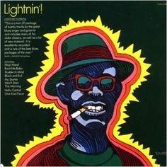 Milton Glaser, Lightnin! album cover
