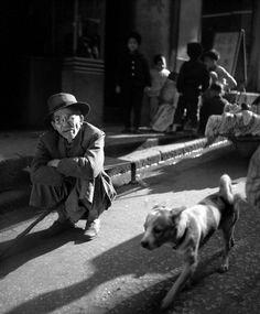 Man with Dog - Fan Ho, 1965.