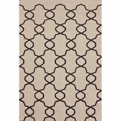 nuLOOM Handmade Flatweave Marrakesh Trellis Natural Wool Rug (7'6 x 9'6) - Overstock™ Shopping - 279