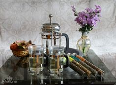 Margra French Press Coffee, Espresso, and Tea Maker Set Model: T-0105
