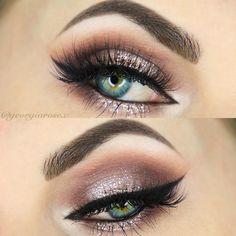 Mauve champagne halo eye  #makeup #eye #eyeshadow