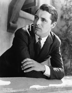 A young Cary Grant.