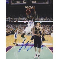 ee0507c3ade Luol Deng Autographed Duke Blue Devils 8X10 Photo - Chicago Bulls