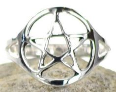 Check out our latest product Silver Plated Bra... it just came in stock here: http://simplywiccan.com/products/silver-plated-brass-pentagram-ring-size-8?utm_campaign=social_autopilot&utm_source=pin&utm_medium=pin