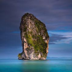 Somewhere near Poda Island, Krabi Province, Thailand. Photo courtesy of trendygirltravz on Instagram.