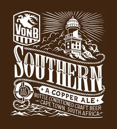 We developed a logo and three beer labels for VonB Breweries, a micro brewery in Kommetjie, Cape Town. The Von Brandis family crest served as inspiration for the logo, while the labels drew from the different hops that the beers are brewed from.