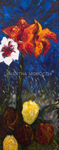 """Valentina Misirocchi """" Il fiore rosso"""" 2013"""