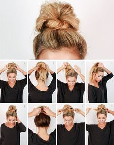 Hairstyles For Long Hair Easy, Easy Everyday Hairstyles, Cute Simple Hairstyles, Bandana Hairstyles, Elegant Hairstyles, Braided Hairstyles, Hairstyle Ideas, Step Hairstyle, Office Hairstyles