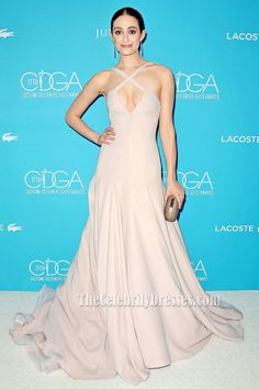 cb2e79e3b4f Emmy Rossum Sexy Long Backless Evening Prom Dress 17th Costume Designers  Guild Awards TCD6698