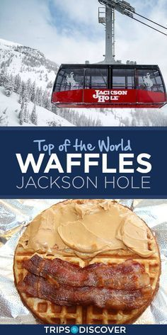 Have a Mountaintop Breakfast at Top of the World Waffles in Jackson Hole, Wyoming Wyoming Vacation, Yellowstone Vacation, Tennessee Vacation, Yellowstone Map, Grand Teton National Park, Yellowstone National Park, National Parks, Jackson Hole Wyoming, All I Ever Wanted