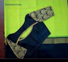 Blouse Designs High Neck, Patch Work Blouse Designs, Kids Blouse Designs, Simple Blouse Designs, Stylish Blouse Design, Fancy Blouse Designs, Kurti Neck Designs, Kerala Saree Blouse Designs, Designer Blouse Patterns