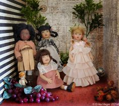 #Kish & Co. dolls. #Jada Champs Elysees, Concert #ZsuZse, Pink Ribbon #Riley, Debut Kiley. #RileyandFriends #HelenKish